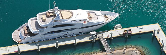 The exclusive Amwaj Marina, Bahrain